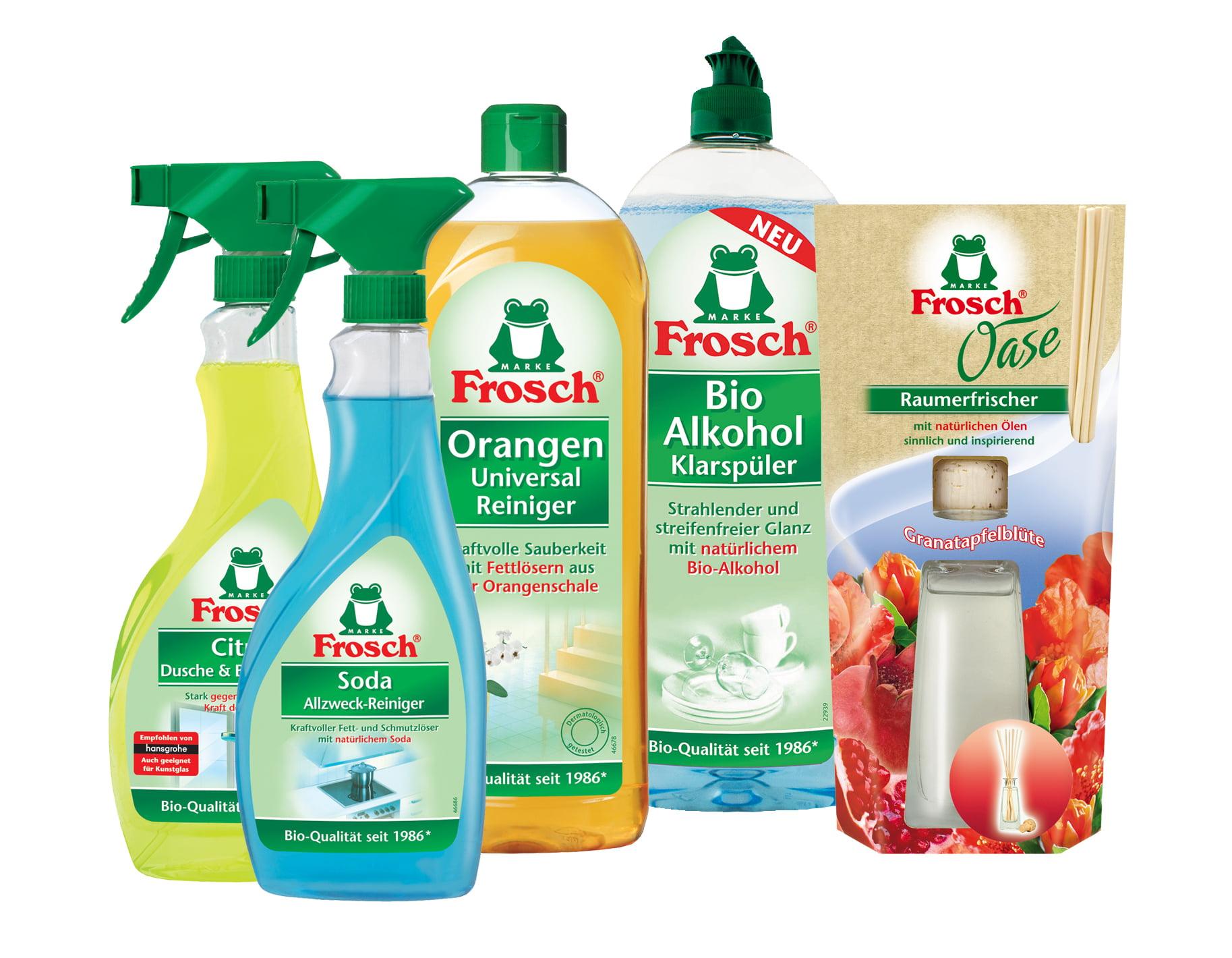 Frosch productos ecol gicos para la limpieza de tu casa - Productos de limpieza ecologicos ...