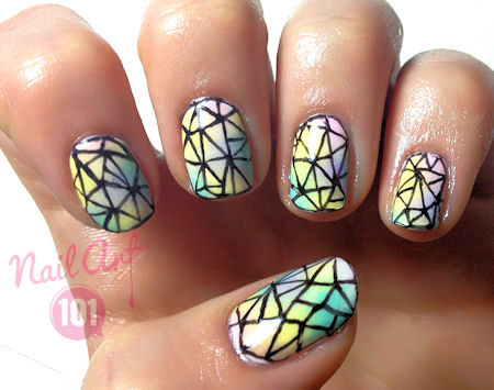 crystal-nails nails-art-101