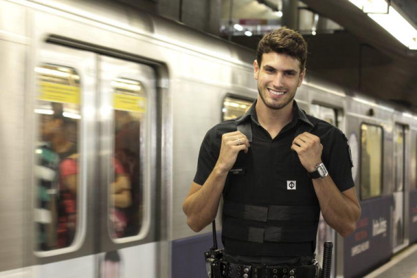 guardia de metro