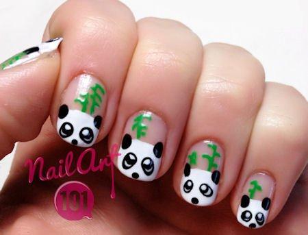panda-nails nail-art-101