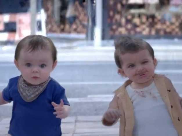 evian-babies