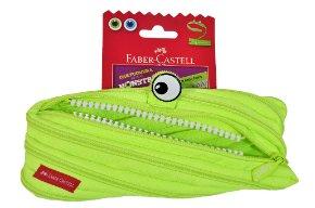 Faber Castell Monster pouch green