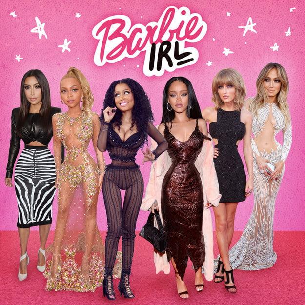 barbie famosas